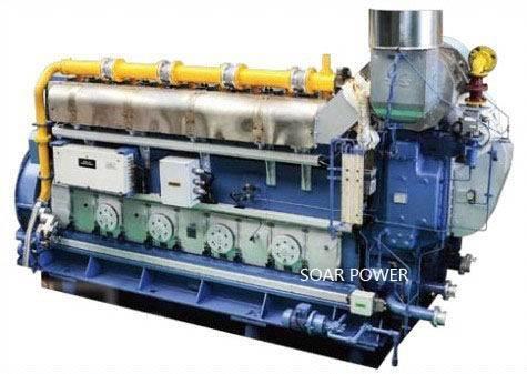 现代船用双燃料发动机(1,100KW-10,000KW)