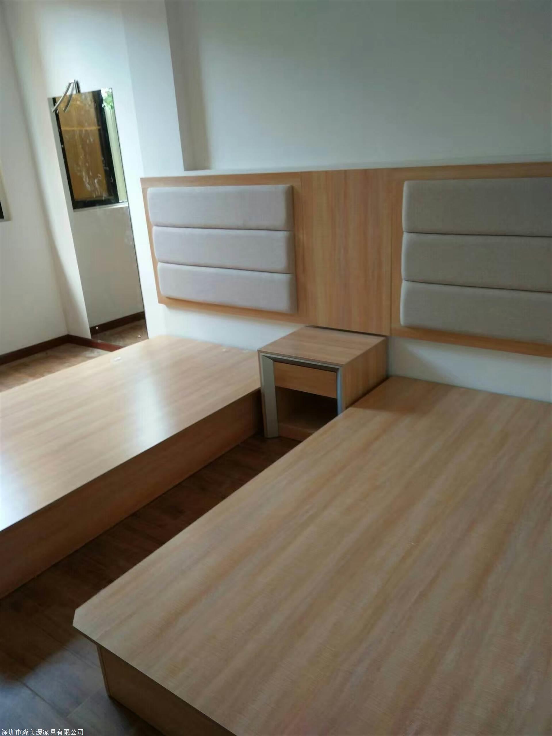 森美源定制酒店板式简约全套家具