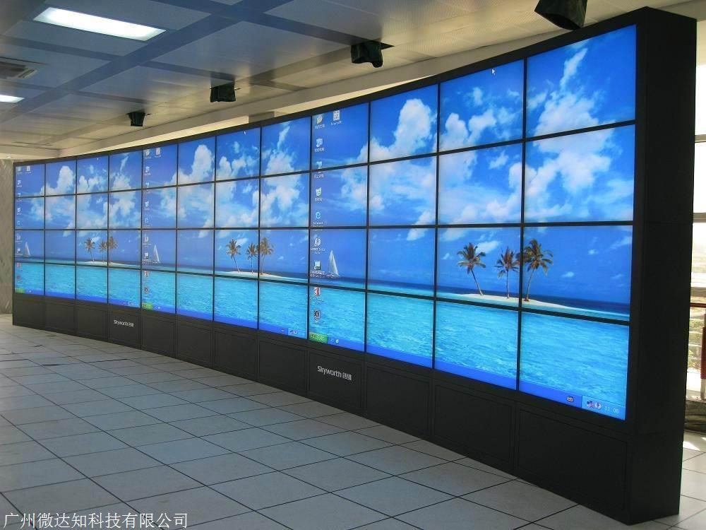 55寸三星液晶拼接屏 LCD高清显示器 监控背景显示墙