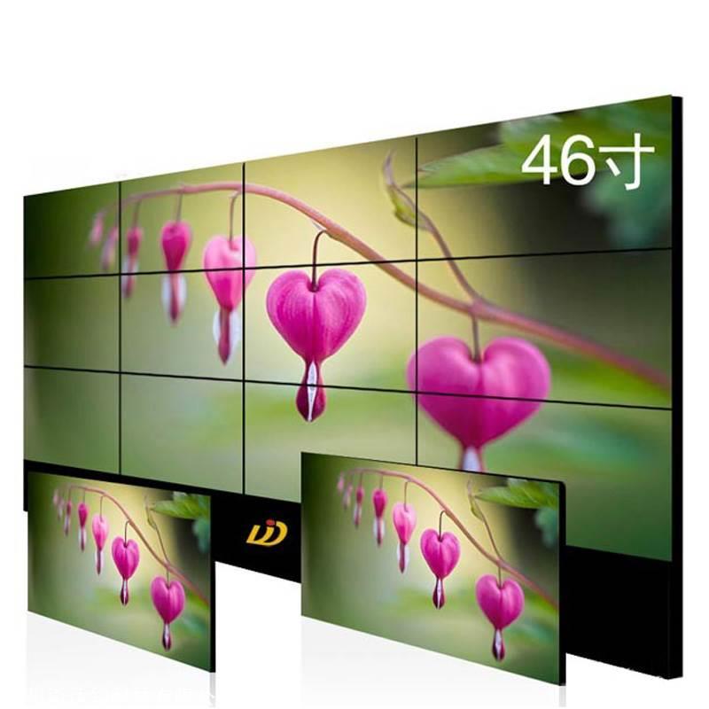 46寸三星5.5mm拼缝液晶屏 高清工业拼接屏 LCD电视屏