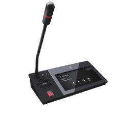校园广播系统触摸屏IP寻呼话筒