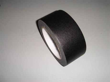 黑色美纹胶带 黑色皱纹胶带 东莞黑色美纹胶带生产工厂
