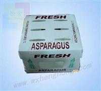 無錫恒宏塑膠特制塑料水果箱  中空板周轉箱