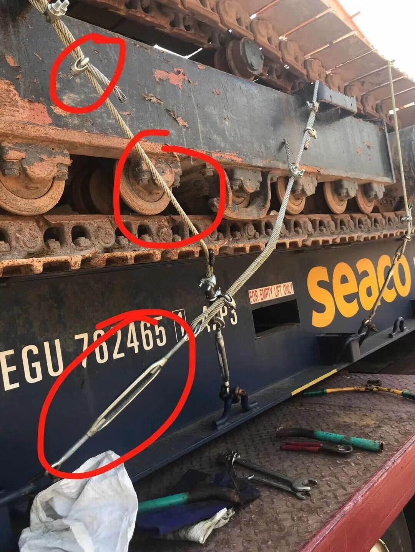 欧洲进口二手挖掘机清关海运代理
