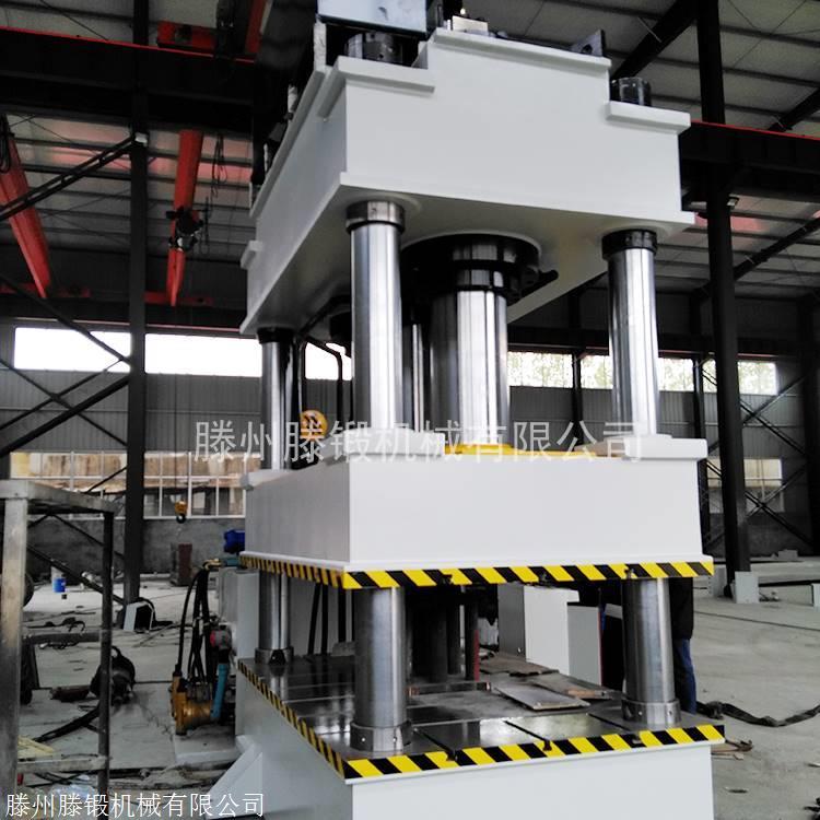 1000吨三梁四柱液压机 玻璃钢化粪池模压油压机
