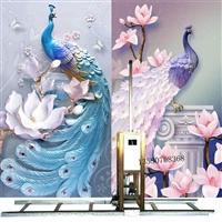 深圳合众智能墙体彩绘机