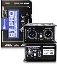 Radial BT-Pro 立体声蓝牙有源DI直插盒批发零售 单通道DI直插盒