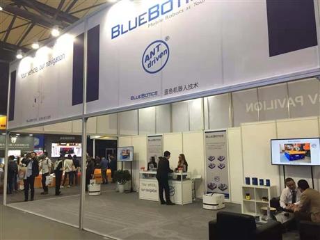 AGV小车的大脑 瑞士Bluebotics自然导航
