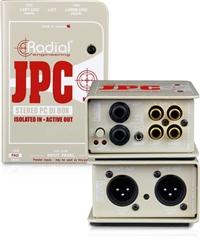 Radial JPC 非平衡输入设备DI直插盒批发零售 DI直插盒 吉他DI盒