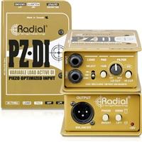 Radial PZ-DI 现场管弦乐器有源DI直插盒批发零售 DI直插盒