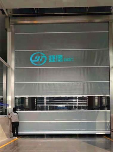 坪地电动门安装维修 自动感应卷帘门价格