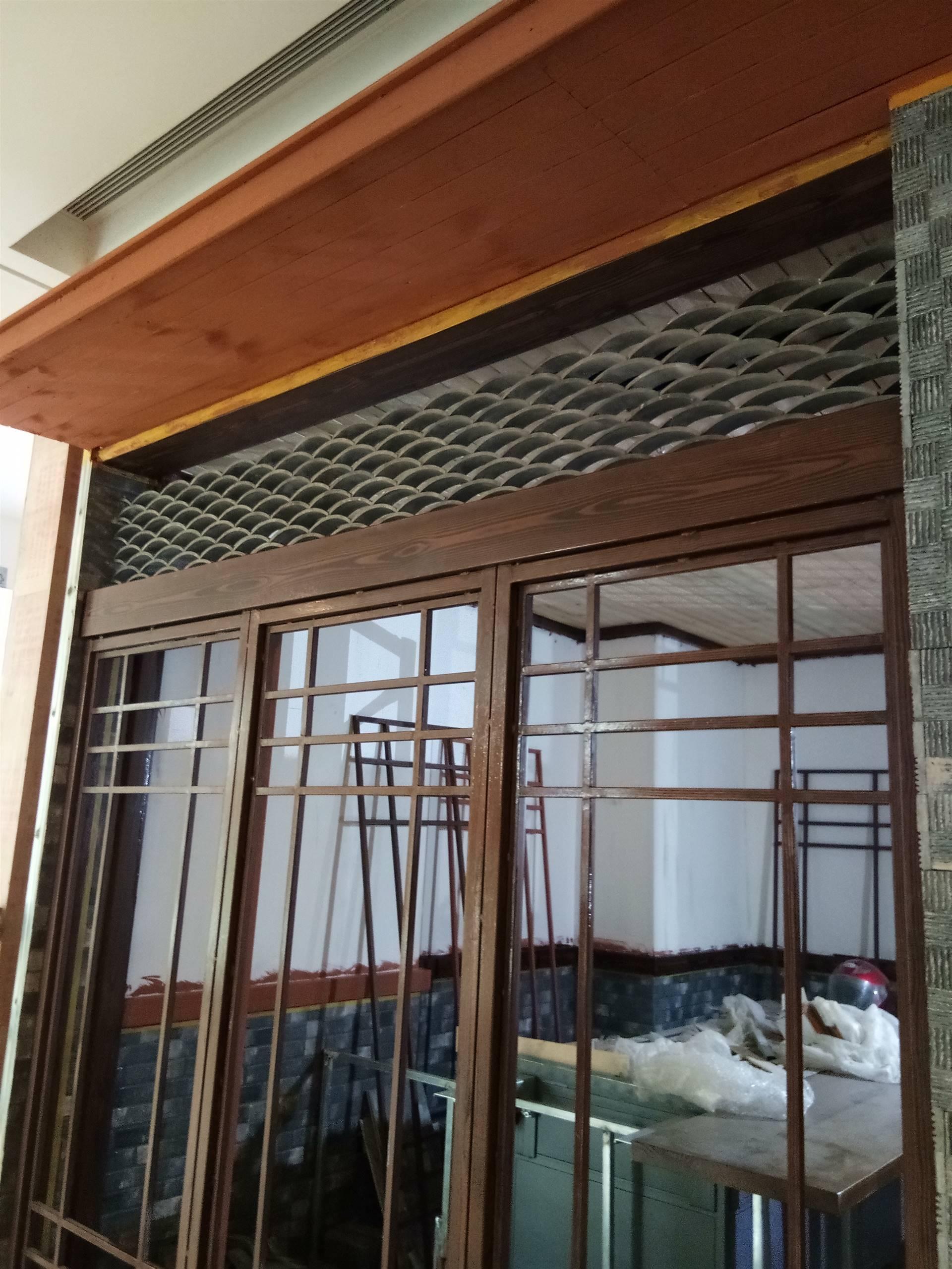 森美木纹漆厂家、外墙钢架棚仿木纹漆施工