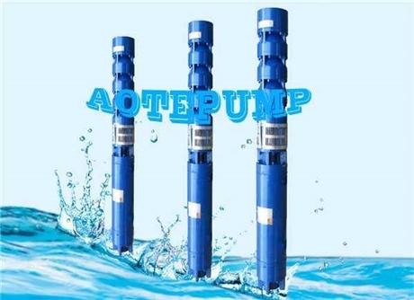 天津奥特泵业深井潜水泵深井泵数字化定制