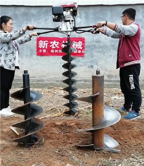 小型挖坑机生产厂家-手提打窝机使用方法