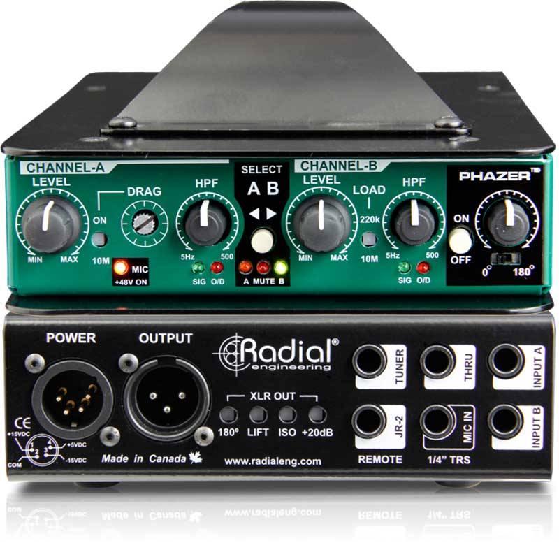 Radial JDV MK5神奇-高端专业级DI直插盒批发零售 隔离变压器