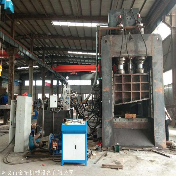 商丘液压废钢龙门剪切机600T厂家价格 供试机视频