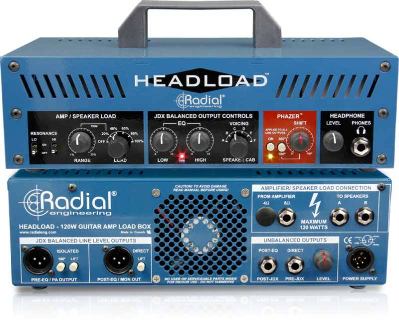 Radial Headload 吉他放大模拟器DI直插盒批发零售 隔离变压器