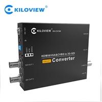 千視CV190 HDMI/VGA/CVBS轉SDI轉換器