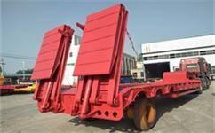 折叠液压爬梯低平板车生产车型