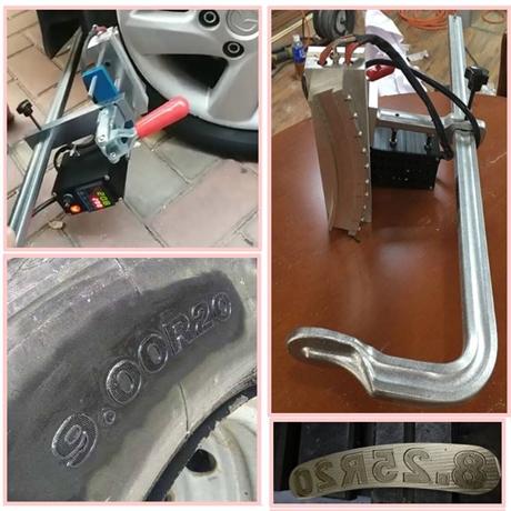 轮胎烫印机 轮胎型号改号机 轮胎型号烫印机