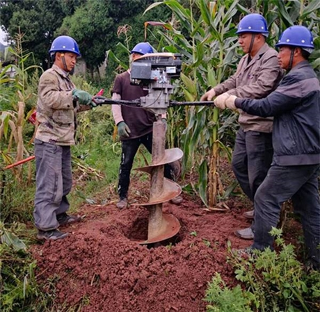 农用改造电线杆挖坑机好用
