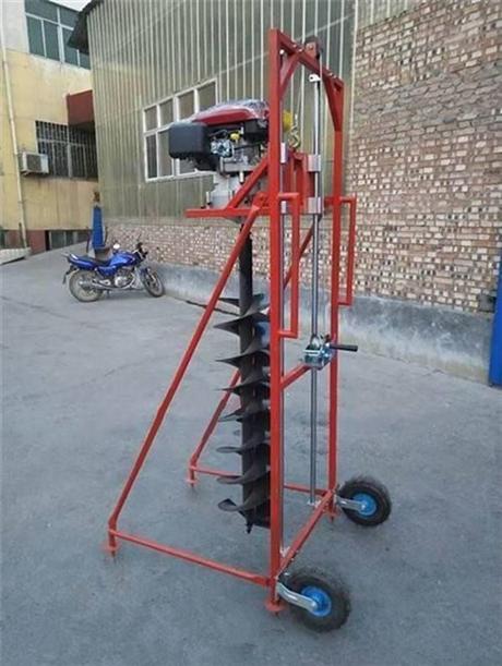 手摇式电杆挖坑机好价格好品质