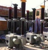 LW9-72.5瓷柱六氟化硫断路器