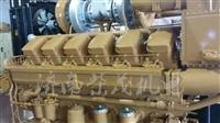 1000KW济柴190柴油机胜动12V190瓦斯发电机组12V190柴油机大修配