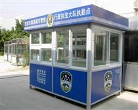 湖南交通崗亭廠家直供-訂做城管執法崗亭多少價格