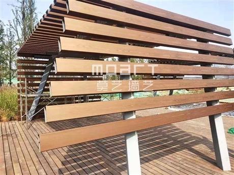 木纹漆在护栏扶手等钢结构木纹漆