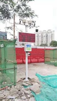 深圳地铁工地建筑扬尘监测仪 高配置双认证双摄像扬尘远程 监控系