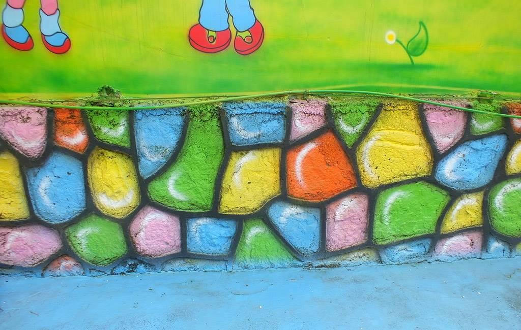 梦想天空专注成都幼儿园墙画,动物园手绘,游乐场彩绘