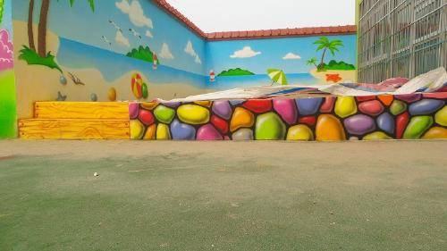梦想天空专注成都幼儿园墙画,幼儿园墙绘,儿童乐园手绘