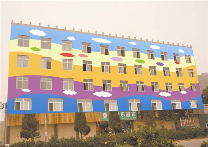 梦想天空专注成都幼儿园墙画,酒吧壁画,室内外墙面的纯手绘装饰