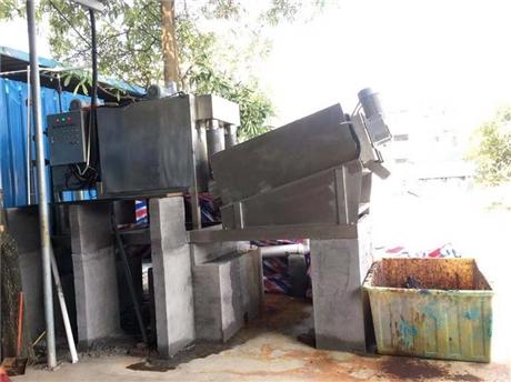 环保全自动污泥脱水机