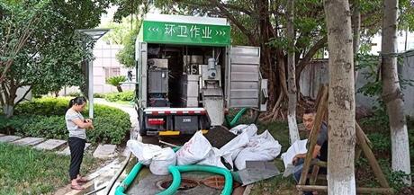 环保新型污泥处理车