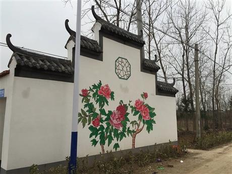 梦想天空专注成都新农村墙画,咖啡厅墙绘,别墅墙绘