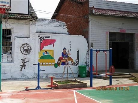 梦想天空专注成都新农村墙画,办公楼墙绘,酒店墙绘