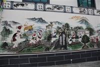 梦想天空专注成都新农村墙画,商场墙绘,餐厅墙绘