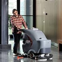 GM70BT高美手推双刷洗地机,全自动洗地机,洗地车