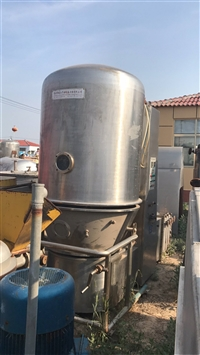 二手不锈钢高效沸腾制粒干燥机