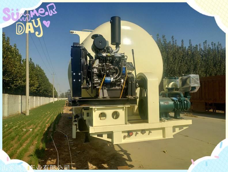 双仓散装水泥罐车 60立方设计方案