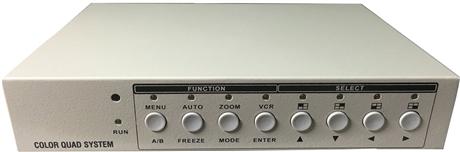 TVI四画面分割器 派尼珂高清TVI/CVI/AHD二画面分割器NK-AHD5002C