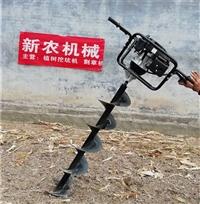 工程栽杆业常用的打坑机图片