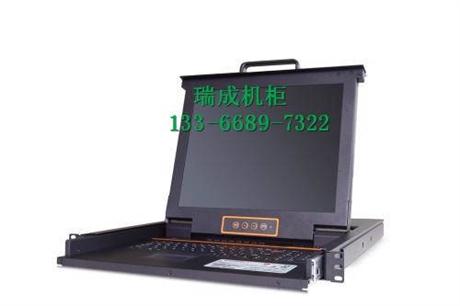 切换器vga8口17英寸USB电脑切换显示器共享器?