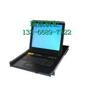 TL-1708GK?kvm切换器热键带键盘8口17英寸高清宽屏机柜