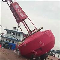 圆柱体海上警示浮标水质监测浮标批发