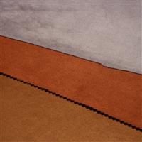 廠家直供 空氣層麂皮絨 服裝面料 大量現貨可定織