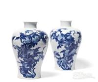 2018年王琦民国人物瓷瓶拍卖价格