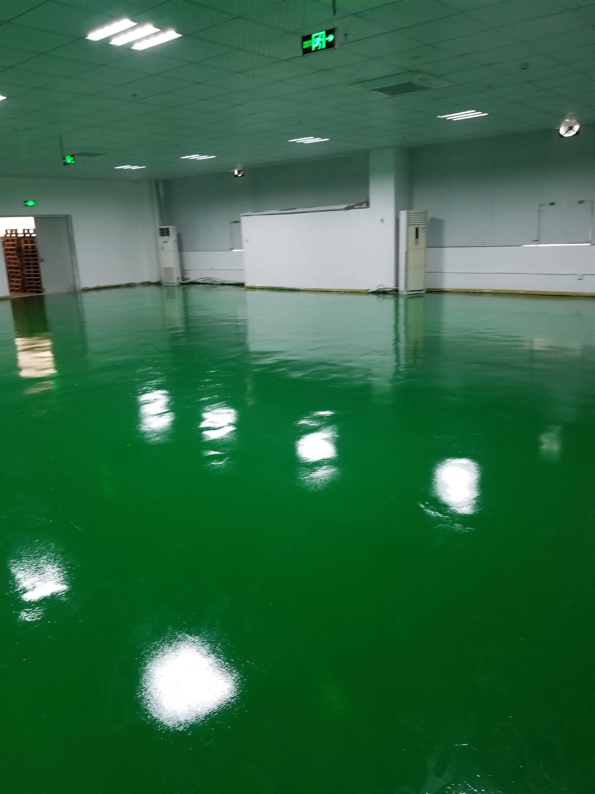 提供厂房水性环氧地坪工程/地板漆施工步骤